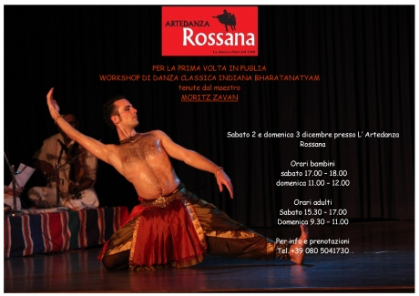 WORKSHOP DANZA INDIANA BHARATANTYAM PRIMO INCONTRO